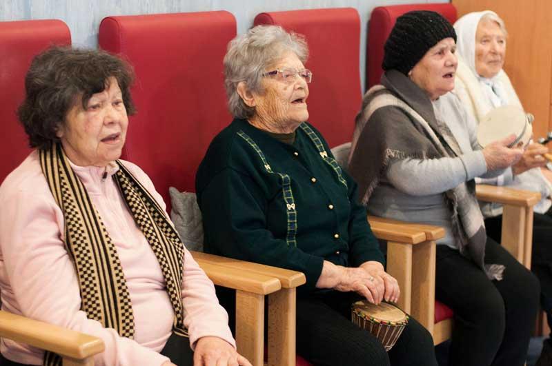 Envelhecimento activo, Musicoterapia, Paula Rosado